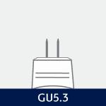 Sokkel på GU5.3 pære