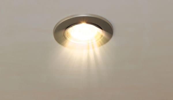 LED-indbygningsspots