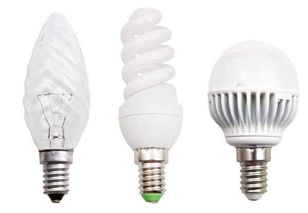 LED pærer med E14 sokkel