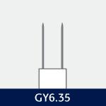 Sokkel på GY6.35 pære
