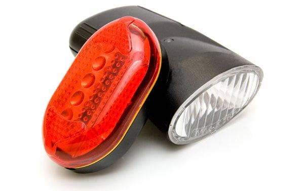 Cykelbaglygter var nogle af de første til at benytte LED lys